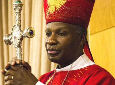 """Archbishop Thabo Makgoba called the dirty tactics employed against the Public Protector """"shameful"""" (PHOTO: Bellah Zulu/ACNS)"""
