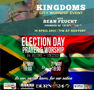 Burn 24/7 PE: KINGDOMS with Sean Feucht / 24hr Election Day Prayer & Worship
