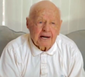 Mickey Rooney in 2011.