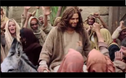 "A screenshot from the official trailer of  ""Son of God"" which opens in South Africa next week."