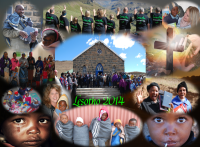A photo montage of the Lesotho Bible mission. (Click to Enlarge)