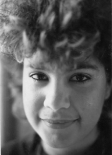 Nina in 1989, when she was a teenage runaway.