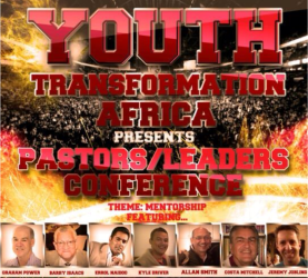 The Transformation Africa Youth Day in Cape Town on June 16 will include a Leaders Conference and an Igniting The Fire Conference.