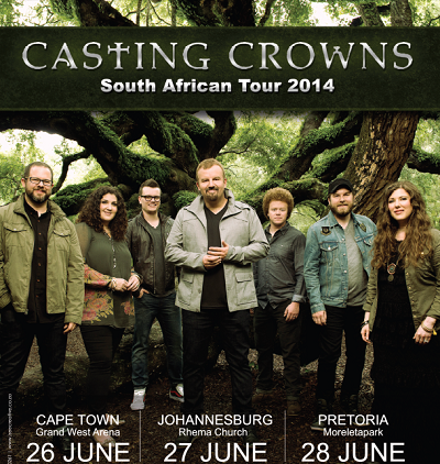 Thriving forward: Casting Crowns SA tour to kick off this weekend