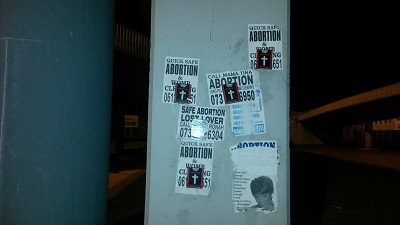 Pro-life sticker campaign spreads from Cape Town to PE