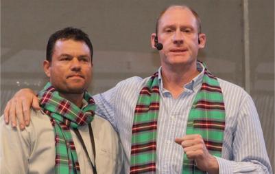 Jacques Malan (left) and Johnny Louw. (PHOTO: David Stott).