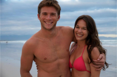 Scott Eastwood and Rachel Hendrix in The Perfect Wave.
