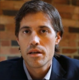 James Foley, an American journalist who was executed by Isis terrorists.