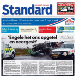 The accident report in Standard on July 24.