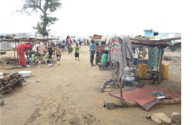 The United Nations camp for Nigerian refugees in Mokolo, norhtern Cameroon, in July. World Watch Monitor