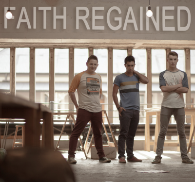 Faith Regained...from the left, Johan van den Berg, Zander de Bruin and Jakes van den Berg.