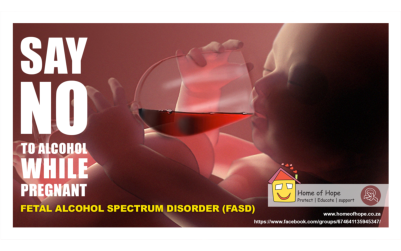 Child protection NPO warns of alcohol dangers in pregnancy