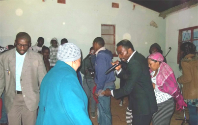 Healings aplenty as new church moves into Kwanobuhle hall