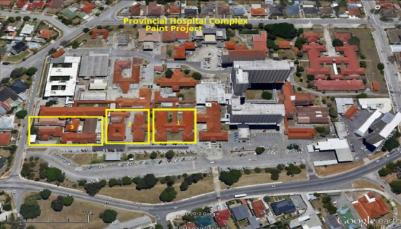 Work will start on exterior refurbishment of the Port Elizabeth Provincial Hospital outpatient builidings on September 26.