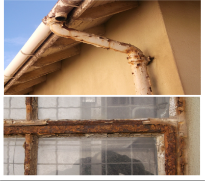 The outpatient buildings upgrade project will include painting and work on gutters, pipes, window frames, door frames and walls.