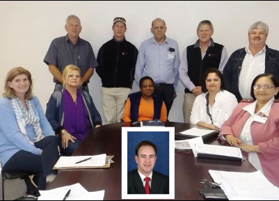 Back row - (left to right) Alan Inge                     - Masshire Willie Greef (Jnr)        - Willie Greeff Trust Solly Pretorius            - Facilities Manager - PE Hospital Complexes Willie Greeff (Snr)        - Willie Greeff Trust Schalk Fourie                - Chairperson - WezMeth Front row - (left to right) Judy Greeff                    - Willie Greeff Trust Julie Ann Barnard           - Jab For Jesus Lifukazi Ngavangu        - Chairperson - PE Provincial Hospital Board Hanlie Fourie                - Board Member - WezMeth Patritia Deysel               - CEO - PE Provincial Hospital