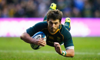 Springbok Willie le Roux loves to play in freedom.
