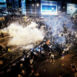 Tens of thousands of people are rallying for free elections in Hong Kong