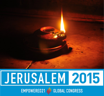 We are going back to Jerusalem in 2015: to celebrate Pentecost and to get oil for our lamps!