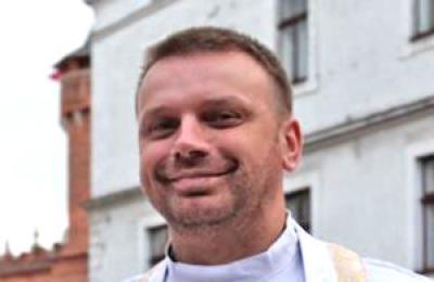 Polish Catholic missionary Fr. Mateusz Dziedzic (Photo courtesy http://grybow24.pl)