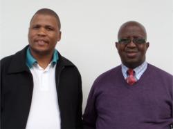 Rev Zola Moses (left) and Bishop Nkosekhaya Dikana.