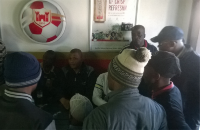Pastors and Christian men have been frequenting Port Elizabeth township taverns lately. No, they have not backslidden -- these members of the Men4Peace Network are on a mission to reduce crime and violence which they say is often linked to abuse of alcohol.