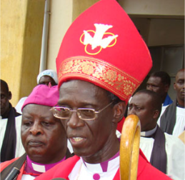 Archbishop Wabukala (left) heads the committee that is answerable only to the President