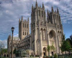 Washington National Cathedral.