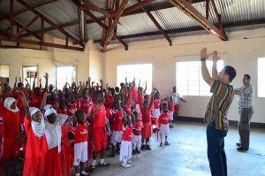 Tanazania school ministry.