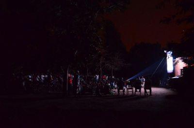 Jesus film screening in Malawi.