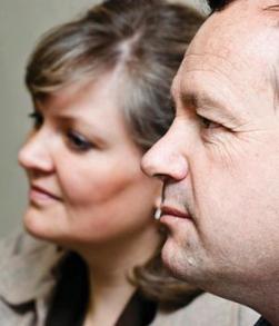 Werner Groenewald and his wife Hannelie. PHOTO: (File, Nelius Rademan, Beeld)