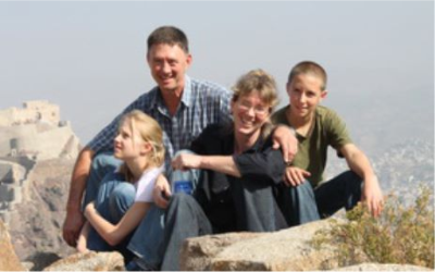 FILE. The Korkie family (from left): Lize-Mari, Pierre, Yolande and Pieter-Ben. (PHOTO: Gift of the Givers).