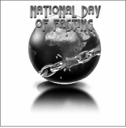 Second National Day of Fasting on January 18, 2015