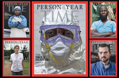 Ebola survivors, missionary named Time Magazine 'Person of the Year'