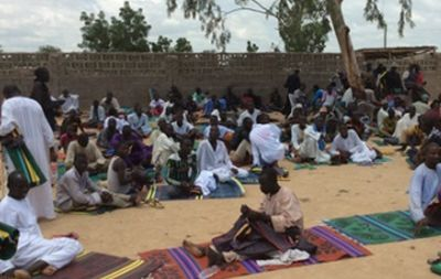 nternally displaced persons in Maiduguri, Borno State. October 2014 (PHOTO: World Watch Monitor).