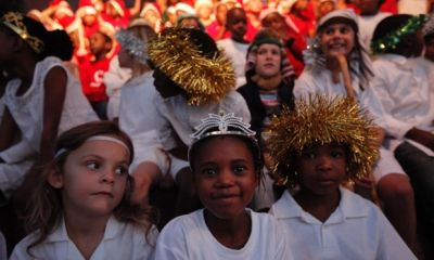 School children sing Christmas carols (PHOTO: File picture -- The Guardian)