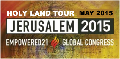 Are you ready for a life-changing revival gathering and Holy Land tour in May?