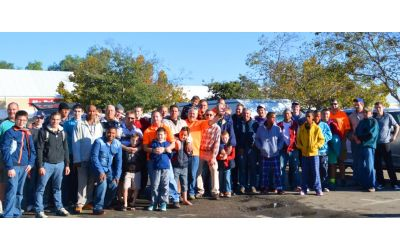 A group of men from Oudtshoorn at KMMC 2014.
