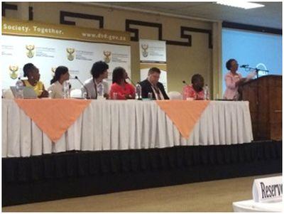 Panel members.