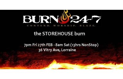 13 hour Burn at Storehouse, PE