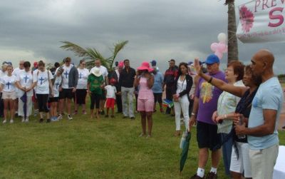 Wet weather did not dampen spirit of Durban prayer walkers
