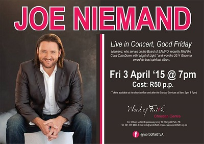 Joe Niemand chats about upcoming Easter concert — Ticket Giveaways!