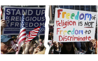 Freedom of religion — What are the real questions for the courts?