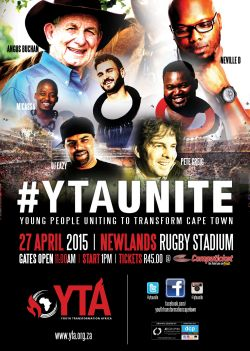 "Youth prayer meeting at Newlands Rugby Stadium ""can restore peace in SA"""