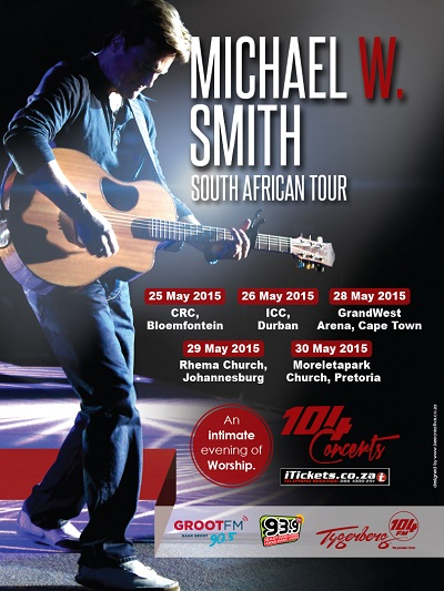 Tickets for Michael W Smith worship nights in SA selling fast