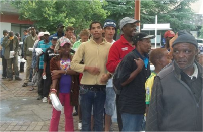 """Loaves and fishes"" type miracle in Brakpan"