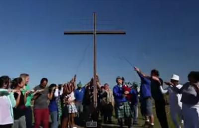 WATCH: Video of the Week: July 2, 2015 — MMC WC cross rises on misty meadow