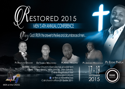 Witbank conference will reveal what it means to be a Christian man