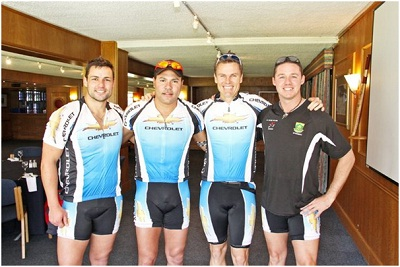"""South African """"spinning"""" record holder will go to extremes at fundraiser"""