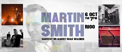 Worship leader Martin Smith to minister in South Africa in October